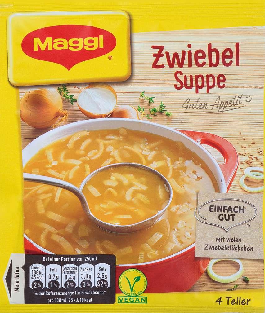 Abbildung des Sortimentsartikels Maggi Guten Appetit Suppe Zwiebel ergibt 1000ml