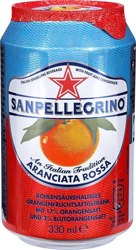 Abbildung des Sortimentsartikels Sanpellegrino Aranciata Rossa 0,33l