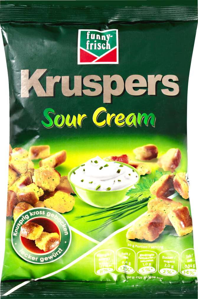 Abbildung des Sortimentsartikels Funny-Frisch Kruspers Sour Cream 120g