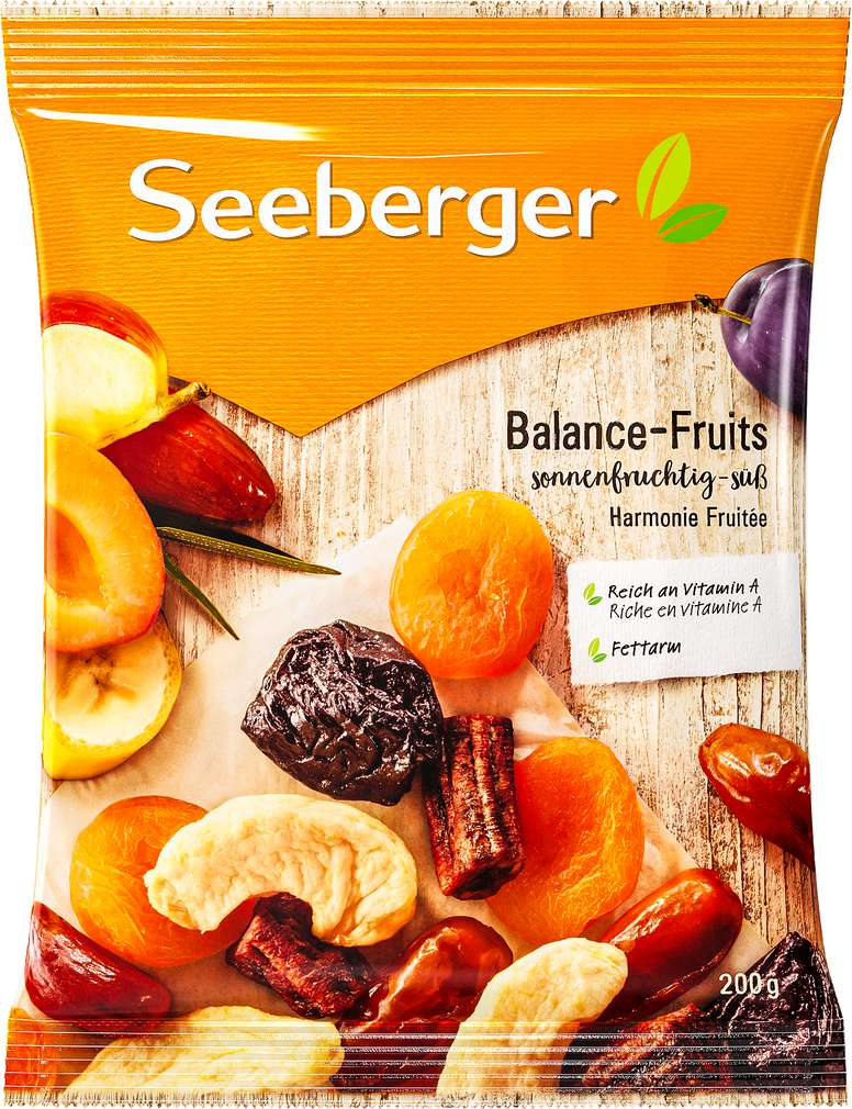 Abbildung des Sortimentsartikels Seeberger Balance-Fruits 200g