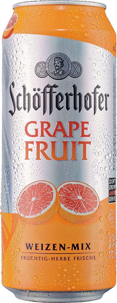 Abbildung des Sortimentsartikels Schöfferhofer Weizen-Mix Grapefruit 0,5l