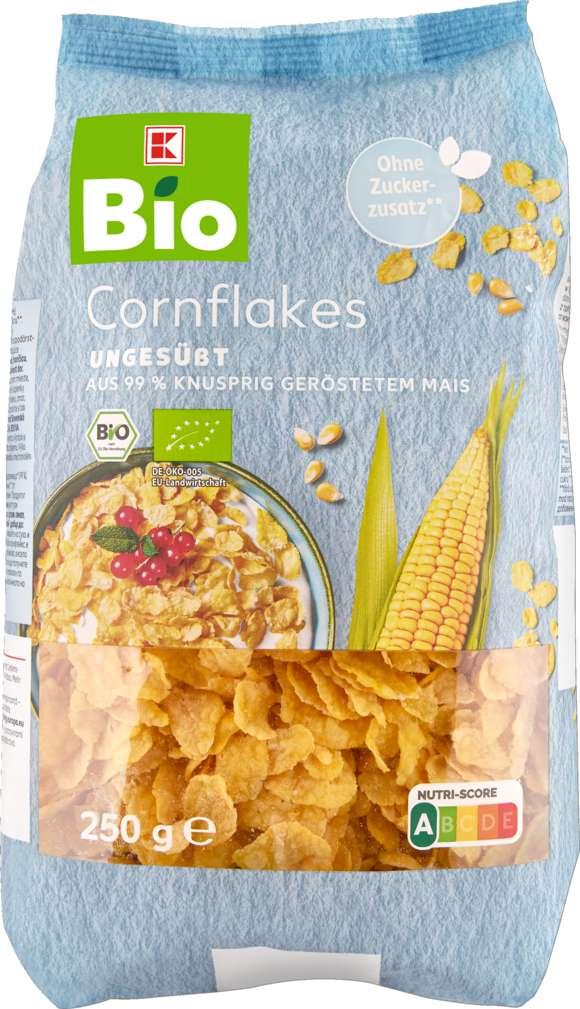 Abbildung des Sortimentsartikels K-Bio Cornflakes ungesüßt 250g