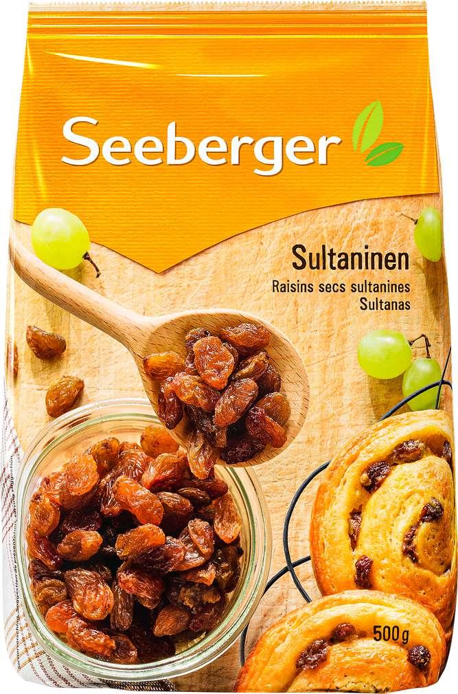 Abbildung des Sortimentsartikels Seeberger Sultaninen 500g