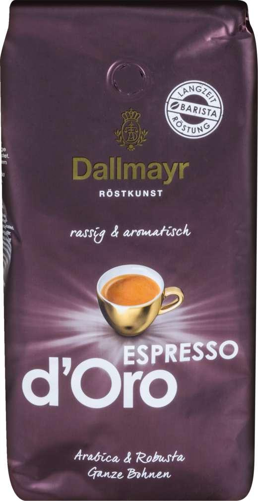Abbildung des Sortimentsartikels Dallmayr Espresso d'Oro 1000g