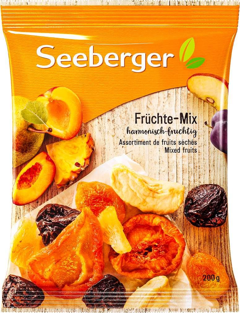 Abbildung des Sortimentsartikels Seeberger Früchte-Mix 200g