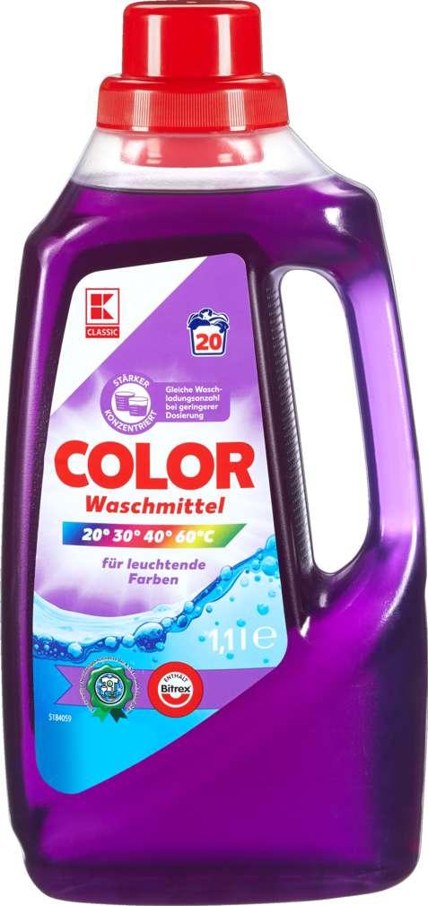 Abbildung des Sortimentsartikels K-Classic Colorwaschmittel 1,1l