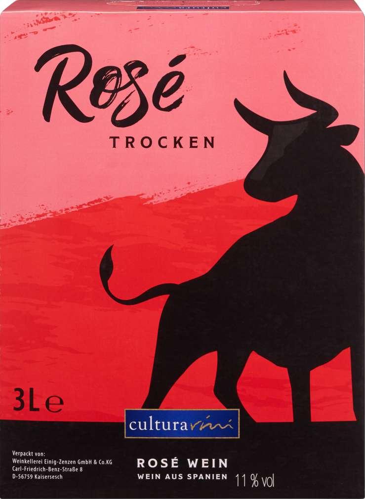 Abbildung des Sortimentsartikels Cultura Vini Landwein Rosé 3l
