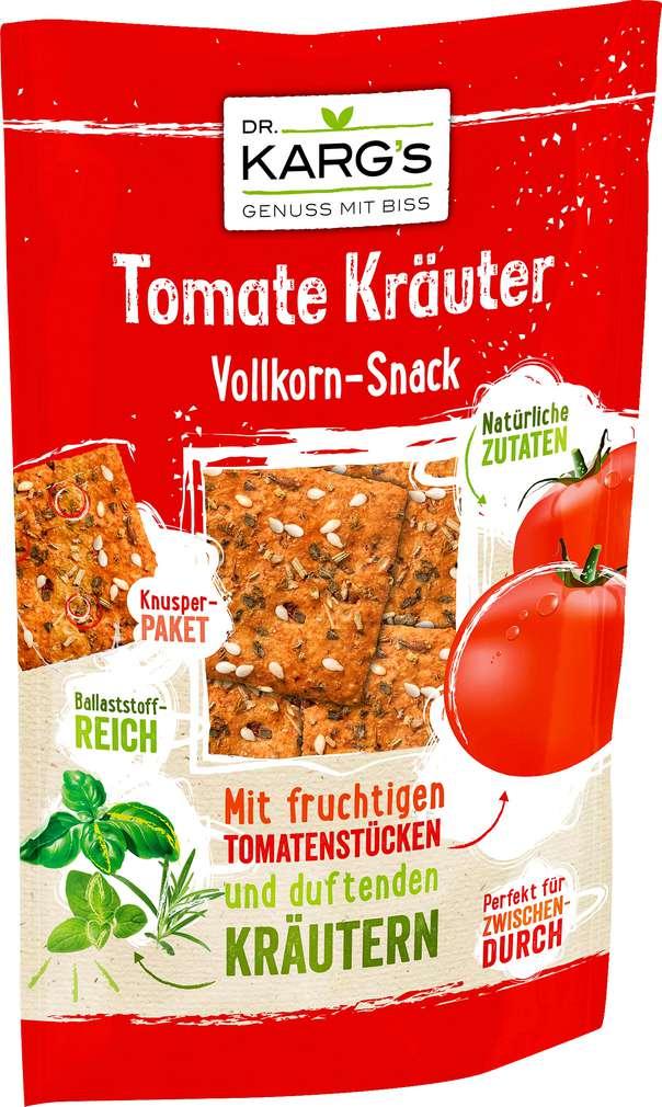 Abbildung des Sortimentsartikels Dr. Karg's Vollkorn-Snack Tomate Kräuter 110g
