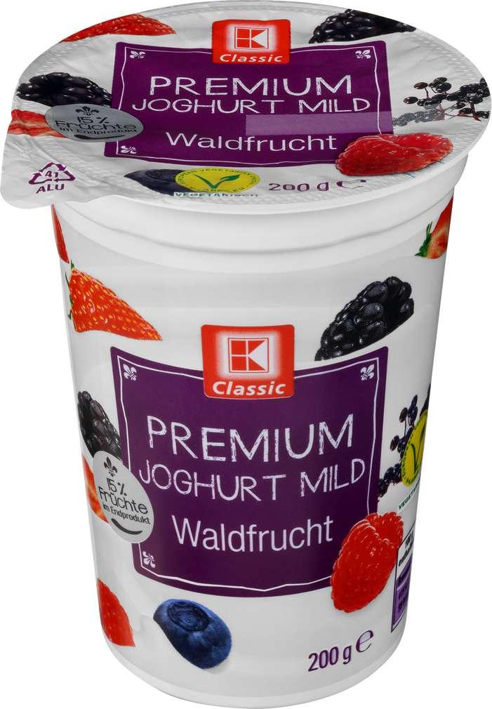 Abbildung des Sortimentsartikels K-Classic Premium Joghurt mild Waldfrucht 200g