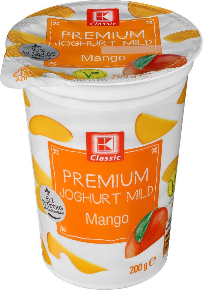 Abbildung des Sortimentsartikels K-Classic Premium Joghurt mild Mango 200g