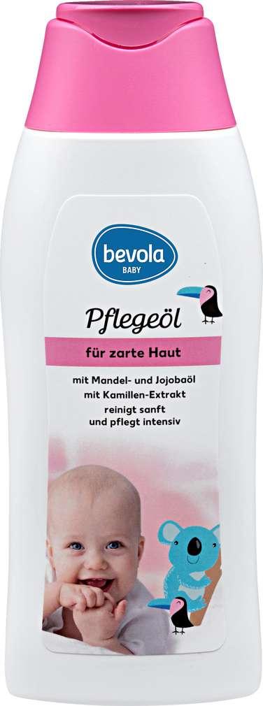 Abbildung des Sortimentsartikels Bevola Pflegeöl für zarte Haut 250ml