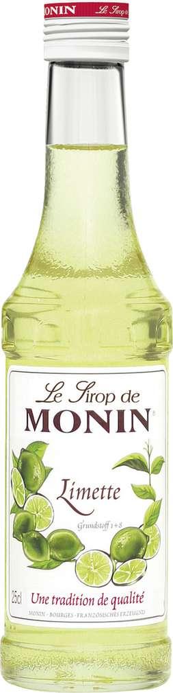 Abbildung des Sortimentsartikels Monin Sirup Limette 0,25l