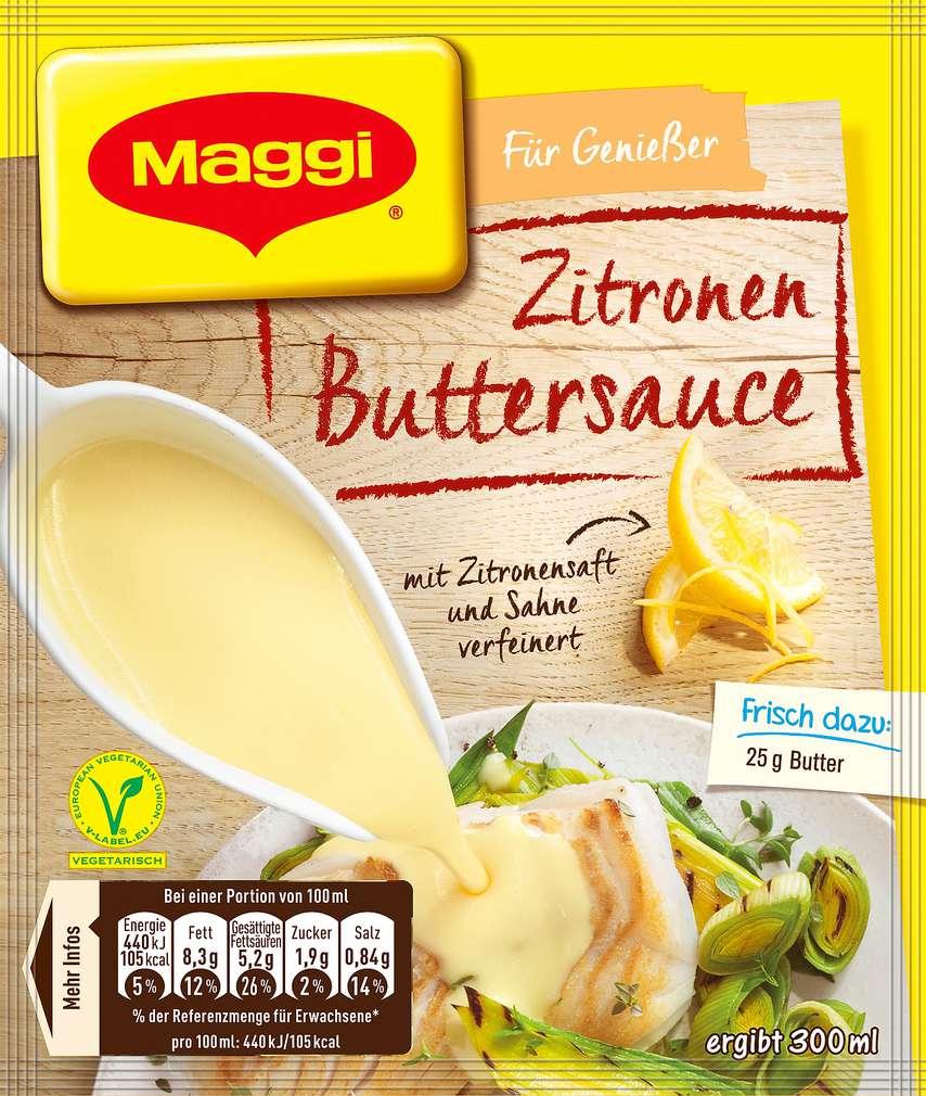 Abbildung des Sortimentsartikels Maggi Zitronen-Buttersauce 37g