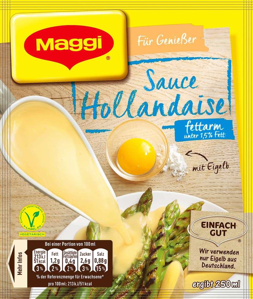 Abbildung des Sortimentsartikels Maggi Sauce Hollandaise fettarm 36g