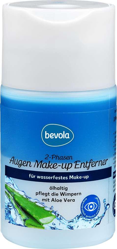 Abbildung des Sortimentsartikels Bevola Augen Make-up Entferner Ölhaltig 100ml