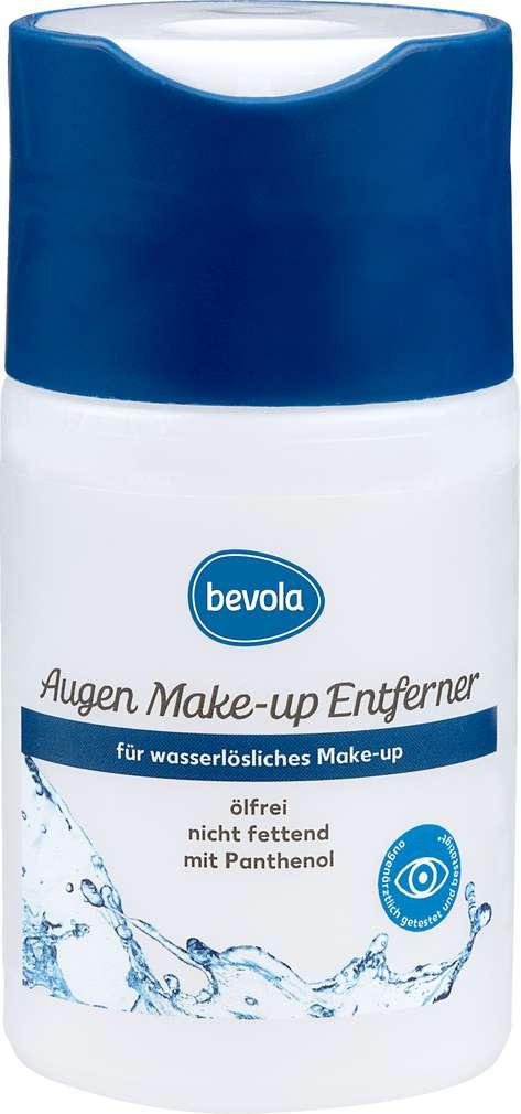 Abbildung des Sortimentsartikels Bevola Augen Make-up Entferner Ölfrei 100ml