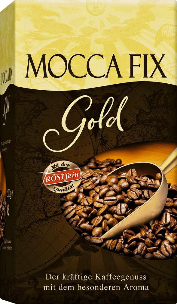 Abbildung des Sortimentsartikels Rondo Mocca Fix Gold 500g
