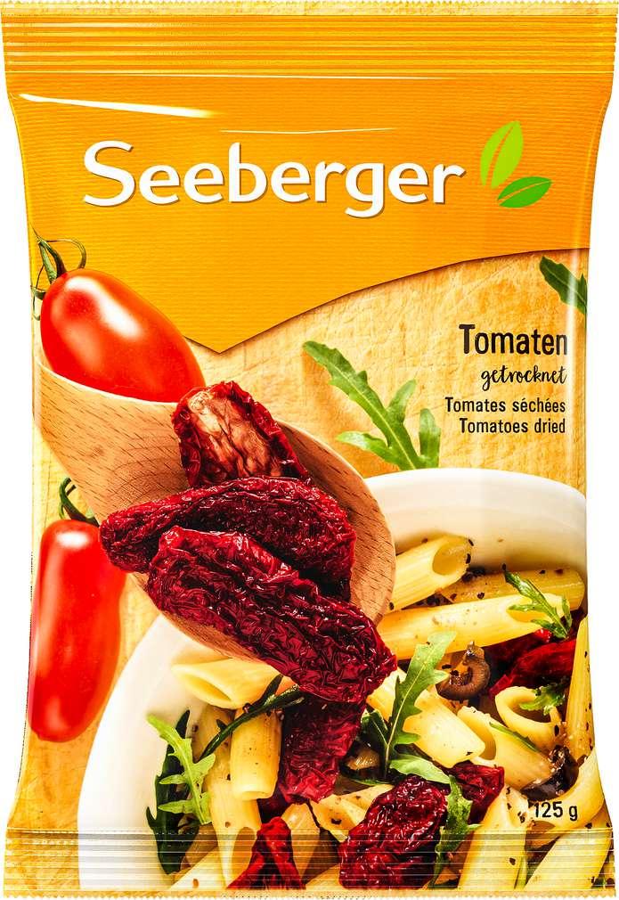 Abbildung des Sortimentsartikels Seeberger Tomaten getrocknet 125g