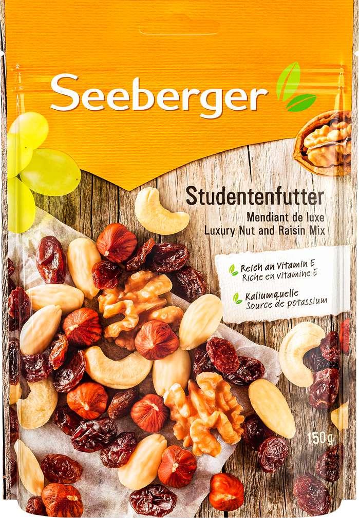 Abbildung des Sortimentsartikels Seeberger Studentenfutter 150g