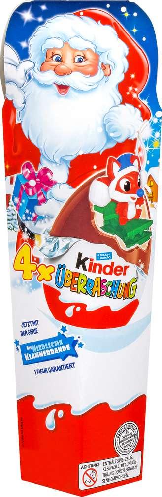 Abbildung des Sortimentsartikels Ferrero Weihnachtsmann 4er Pack, 80g