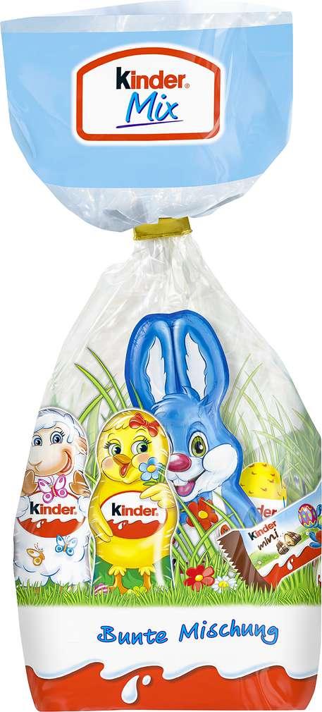 Abbildung des Sortimentsartikels Ferrero Kinder Mix Beutel 132g