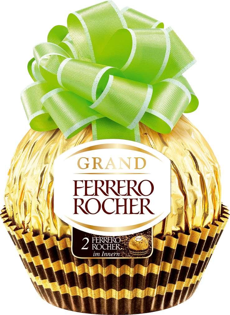 Abbildung des Sortimentsartikels Ferrero Rocher Schatzkugel 125g