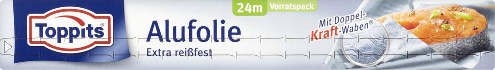 Abbildung des Sortimentsartikels Toppits Alufolie Extra reißfest 24m