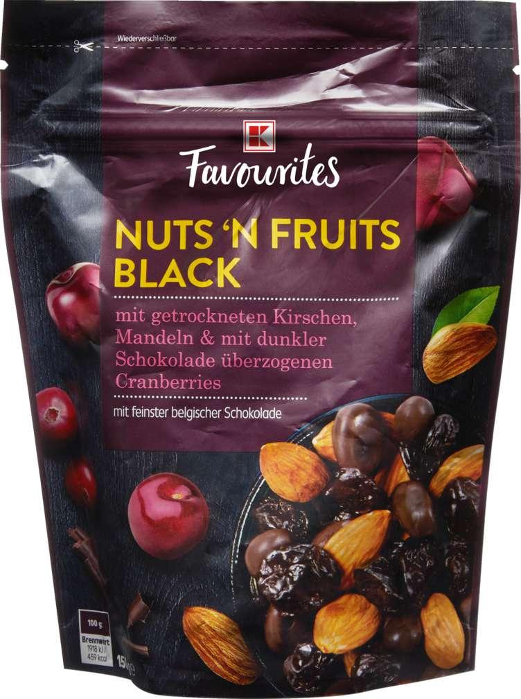 Abbildung des Sortimentsartikels K-Favourites Nuts'n'Fruits Black 150g