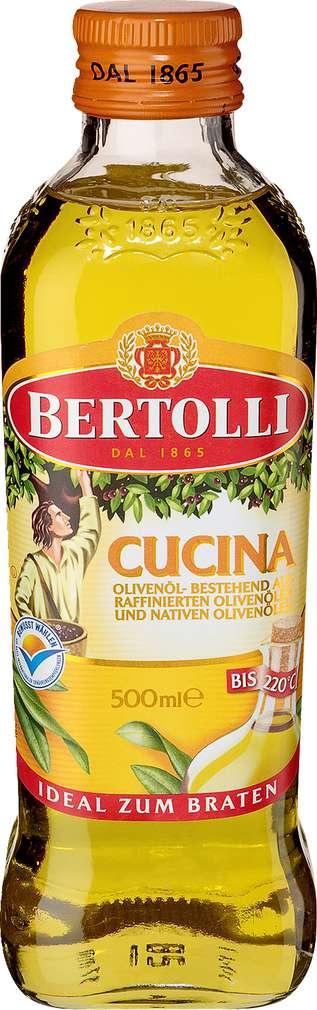 Abbildung des Sortimentsartikels Bertolli Cucina Olivenöl 500ml