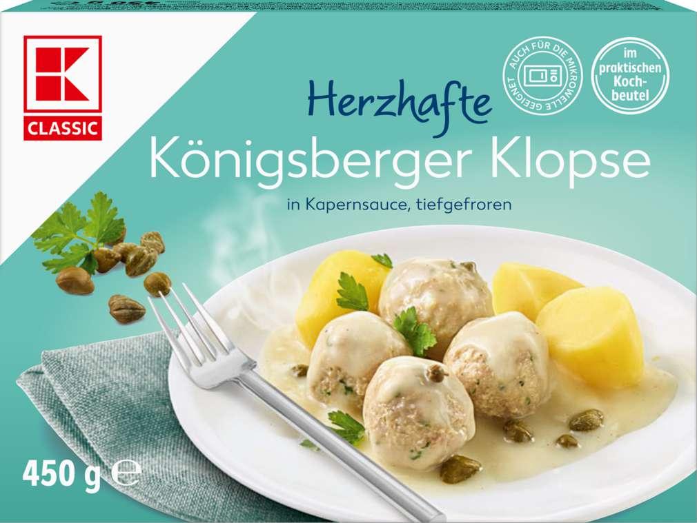 Abbildung des Sortimentsartikels K-Classic Königsberger Klopse 450g