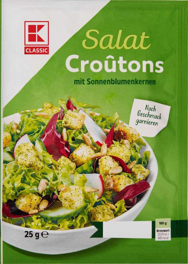 Abbildung des Sortimentsartikels K-Classic Salatcroutons Sonnenblumenkerne 25g