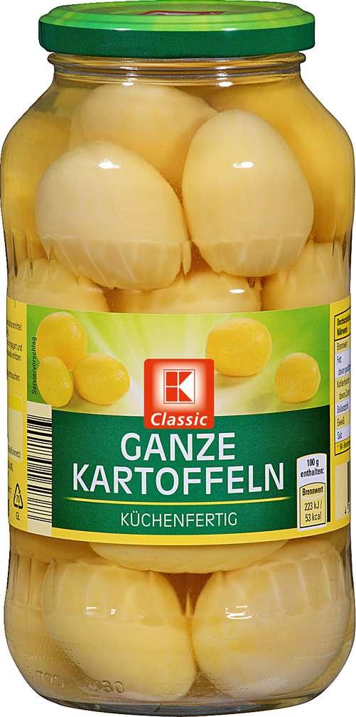 Abbildung des Sortimentsartikels K-Classic Ganze Kartoffeln 680g