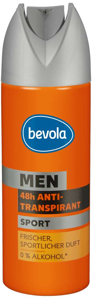 Abbildung des Sortimentsartikels Bevola Antitranspirant Men Sport 200ml