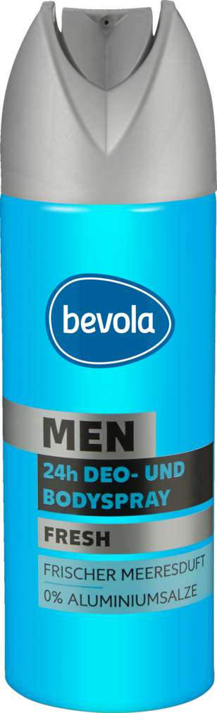 Abbildung des Sortimentsartikels Bevola Deospray Men Fresh 200ml