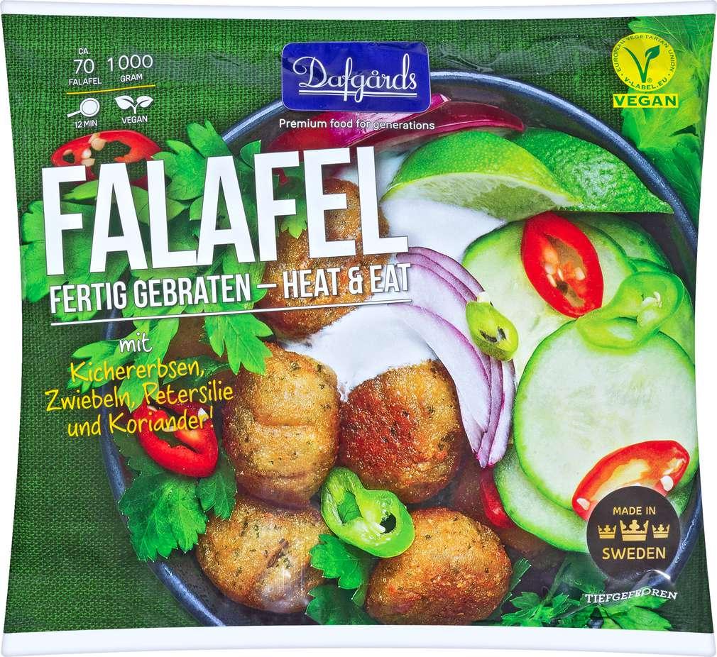 Abbildung des Sortimentsartikels Dafgard Falafel 1000g