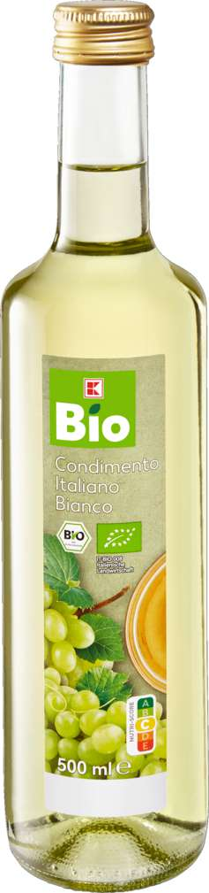 Abbildung des Sortimentsartikels K-Bio Condimento Bianco 500ml
