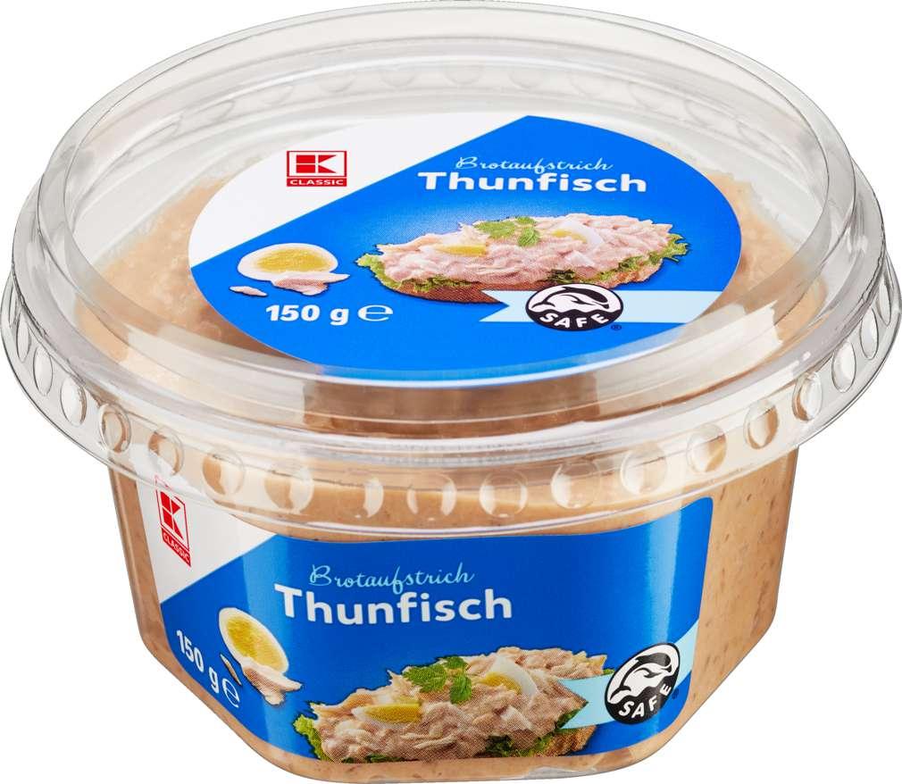 Abbildung des Sortimentsartikels K-Classic Brotaufstrich Thunfisch 150g
