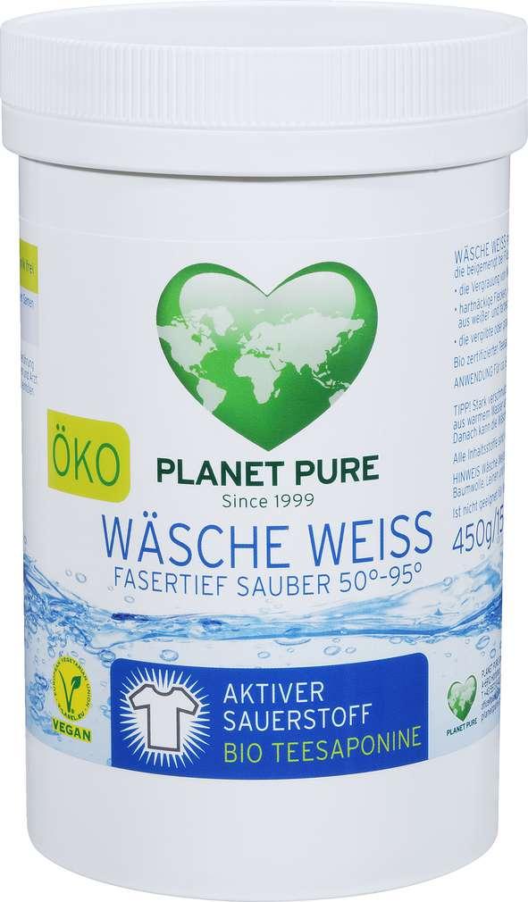 Abbildung des Sortimentsartikels Planet Pure Bio Wäsche Weiß Fleckenvorbehandlung 450g