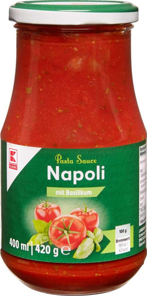 Abbildung des Sortimentsartikels K-Classic Pastasauce Napoli 400ml