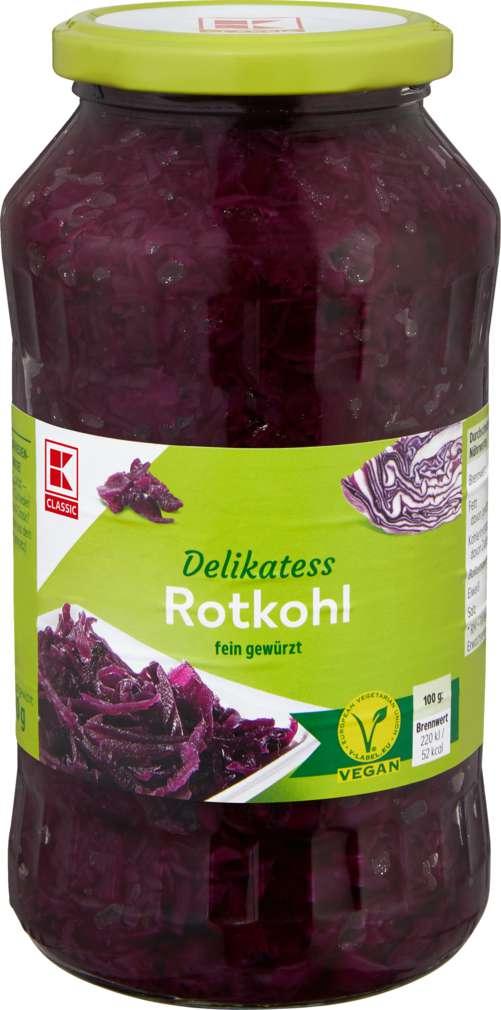 Abbildung des Sortimentsartikels K-Classic Rotkohl 720ml