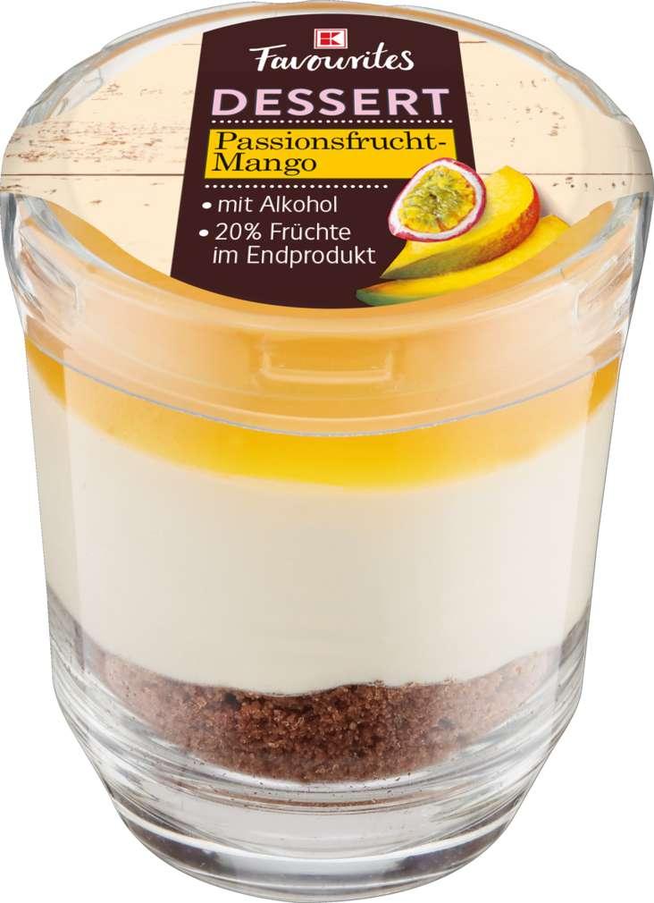 Abbildung des Sortimentsartikels Exquisit Dessert im Glas Passionsfrucht-Mango 60g