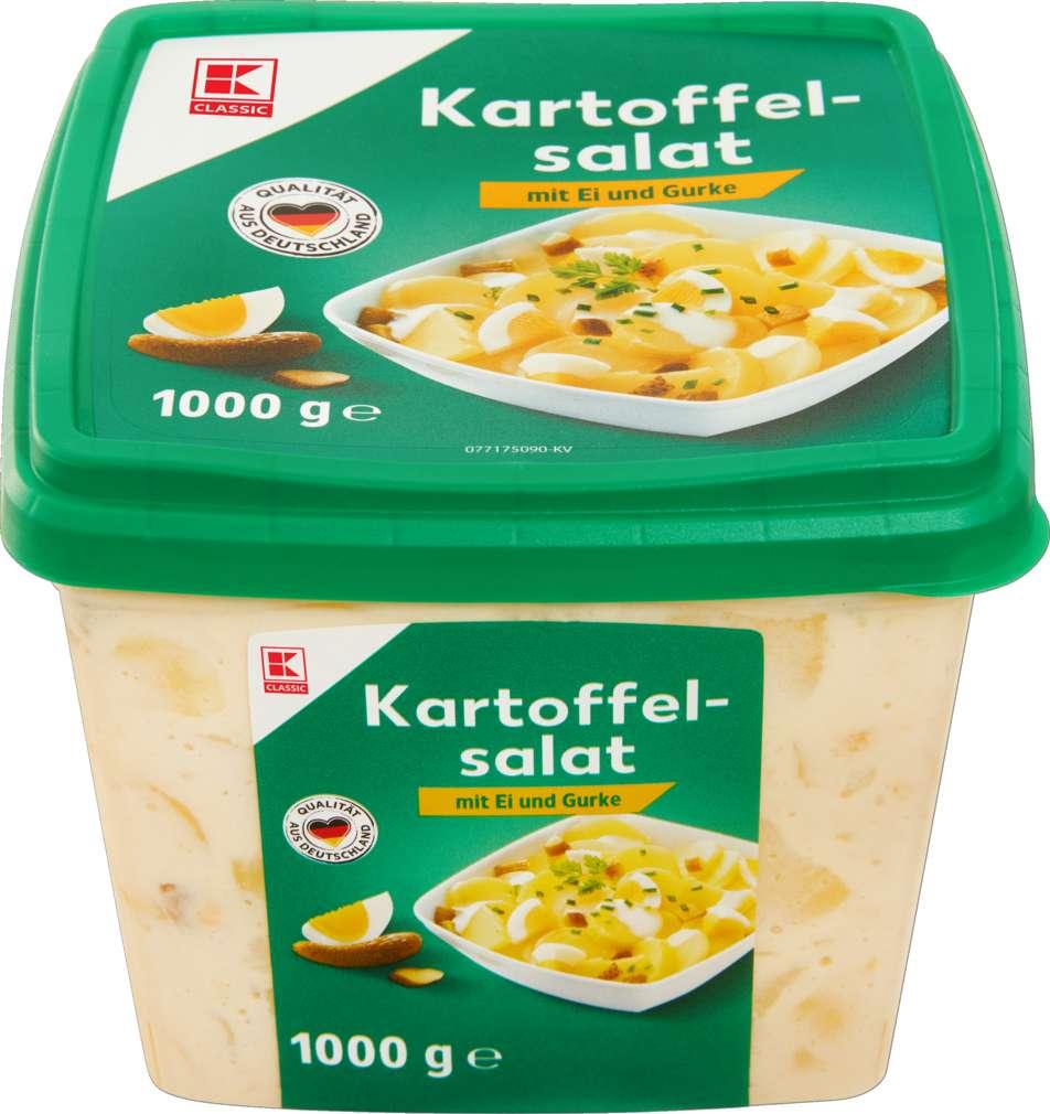 Abbildung des Sortimentsartikels K-Classic Kartoffelsalat Ei / Gurke 1000g