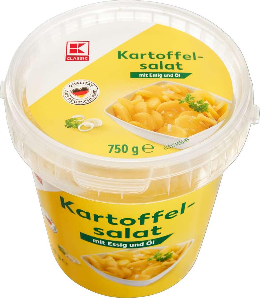 Abbildung des Sortimentsartikels K-Classic Kartoffelsalat Essig/Öl 750g