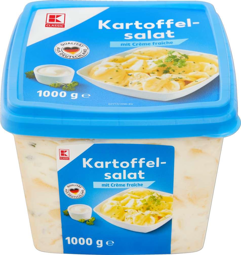 Abbildung des Sortimentsartikels K-Classic Kartoffelsalat Creme Fraiche 1000g