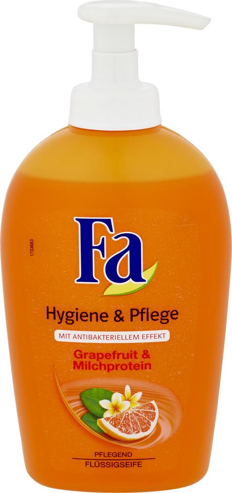 Abbildung des Sortimentsartikels Fa Flüssigseife Grapefruit & Milchprotein 250ml