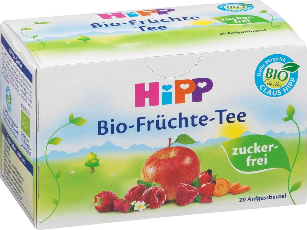 Abbildung des Sortimentsartikels Hipp Früchtetee zuckerfrei 20x2g