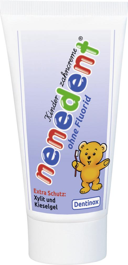 Abbildung des Sortimentsartikels Nenedent Kinderzahncreme ohne Fluorid 50ml