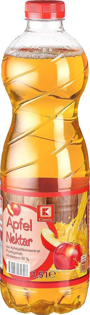 Abbildung des Sortimentsartikels K-Classic Apfel-Nektar 1,5l