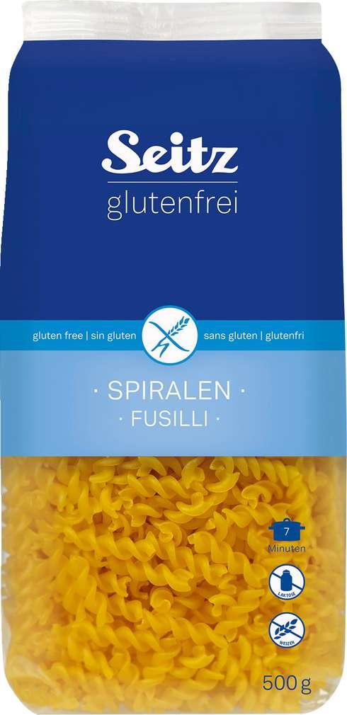 Abbildung des Sortimentsartikels Seitz glutenfrei Glutenfrei Spiralen 500g