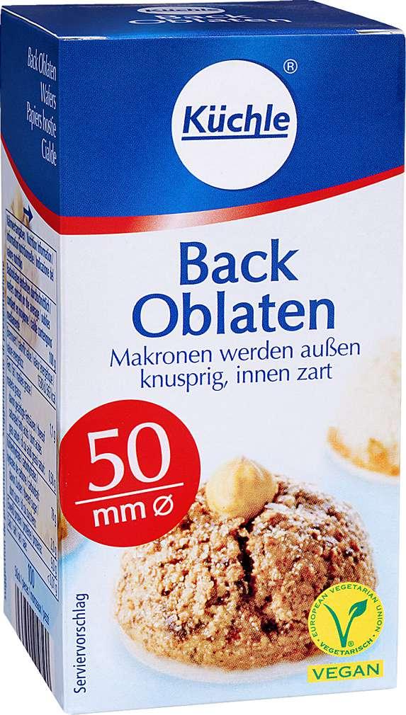Abbildung des Sortimentsartikels Küchle Back Oblaten 37g